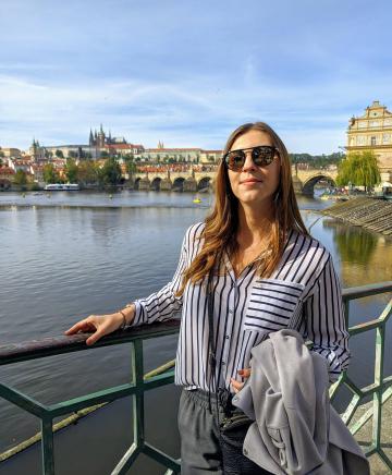 Julia in Prague